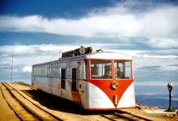 Pikes Peak Cog Railway: 1957