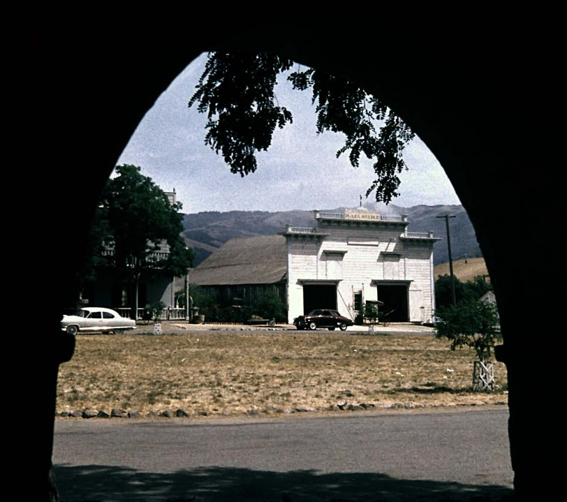 Plaza Livery Stable - San Juan Bautista | Shorpy Old Photos | Vintage Photography