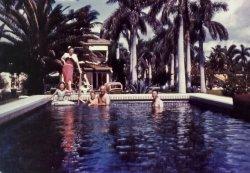 Miami Beach Pool: 1942