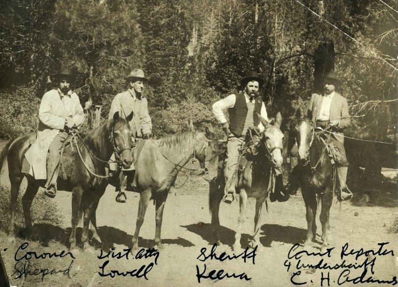 Michigan Bluff Posse: 1905