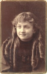 Your mother as a little girl, Esther