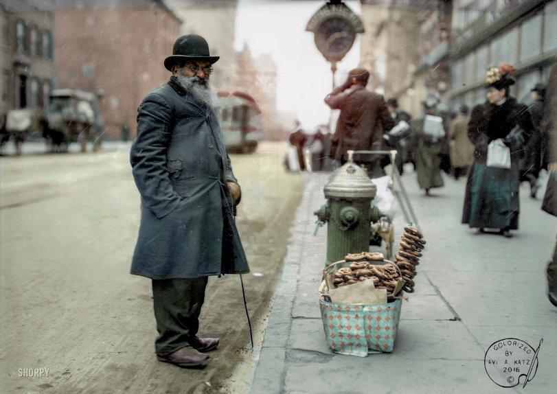 Mr. Pretzel (Colorized): 1910