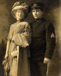 Ethel Elvira Frances Wedmark Price and Burt Price