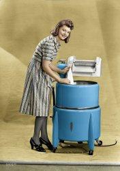 Princess Unplugged (Colorized): 1950
