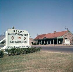 Fort Huachuca: 1963