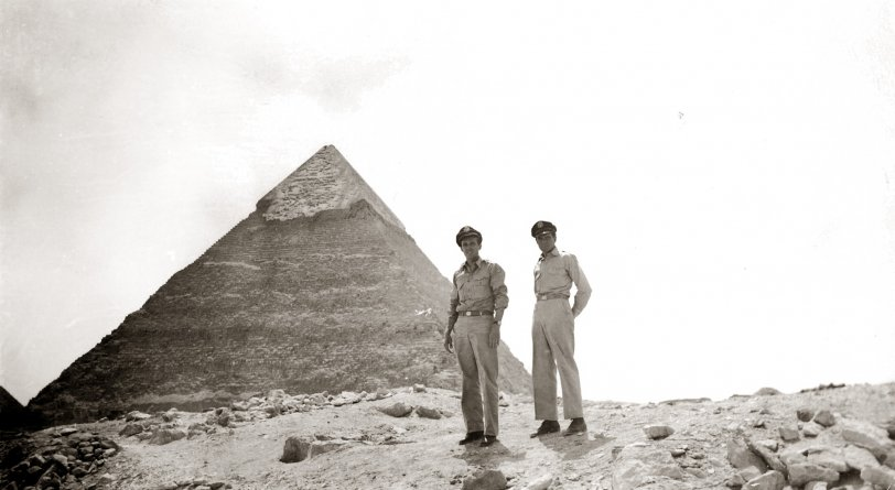 Grandpa at the Pyramids