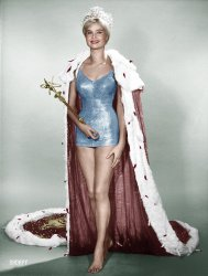 Queen Marlene (Colorized): 1962
