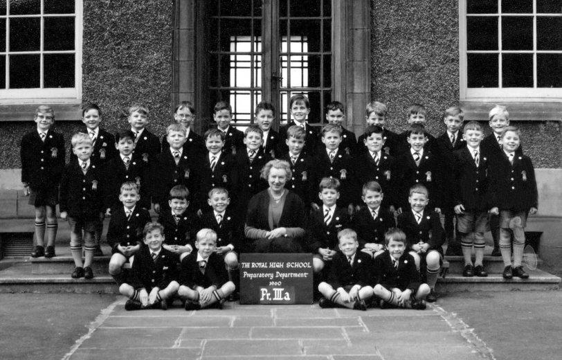 Primary III, Edinburgh: 1960