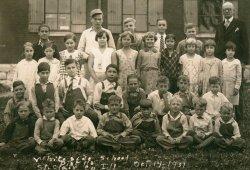 Whiteside School, 1931