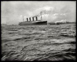 RMS Lusitania: 1908