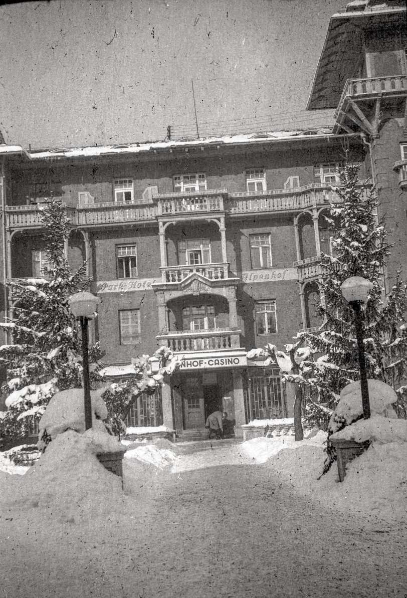 Park Hotel Alpenhof: 1944