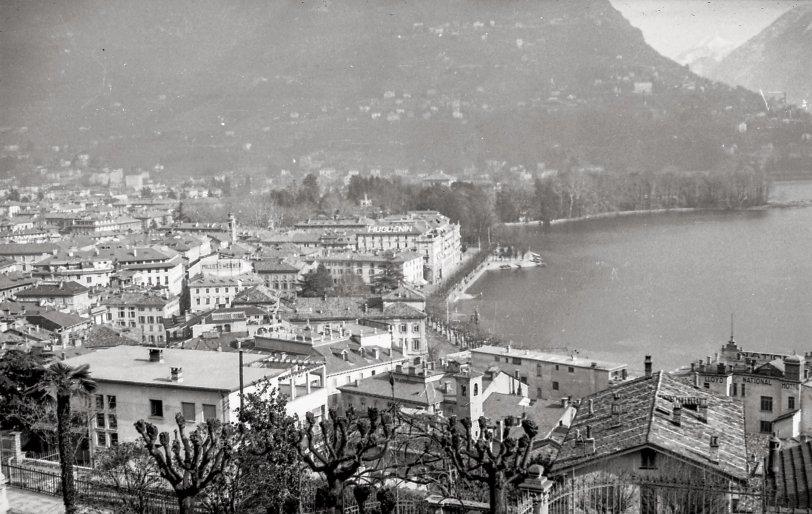 Lake Lugano: 1944
