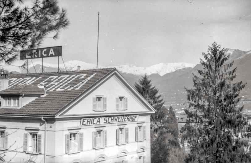 Erica Schweizerhof Hotel: 1944
