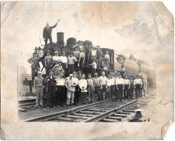 Railroad Train late 1920's