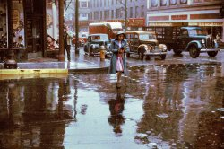 Rainy Day Woman (Colorized): 1940