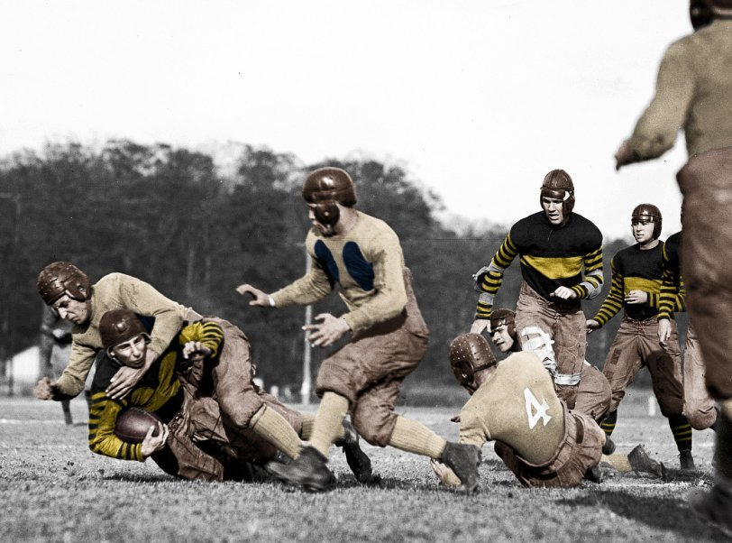 Old-School (Colorized): 1923