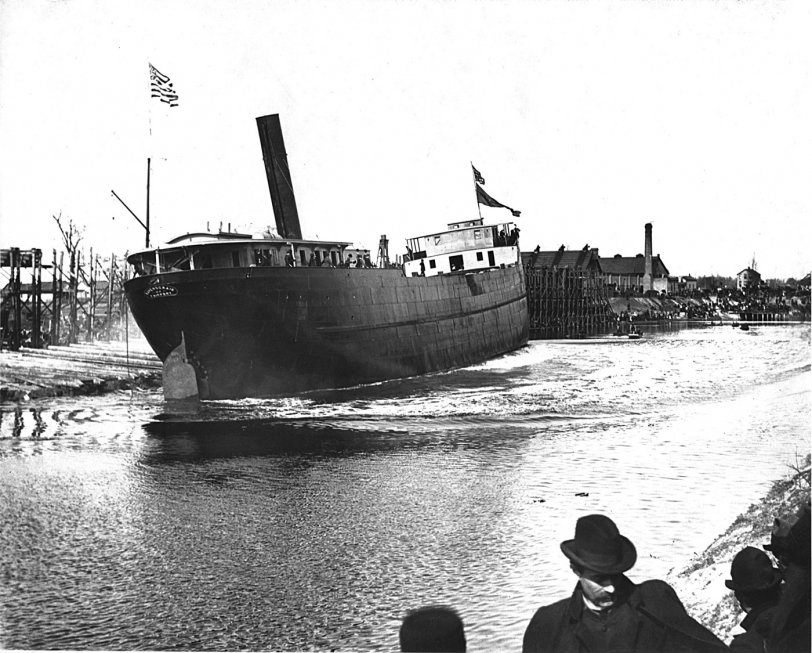 Launch of the Ravenscraig: 1900