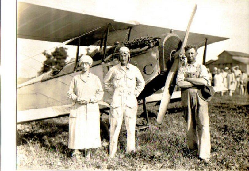 First Landing At Hooterville