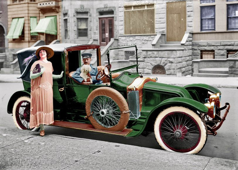 Living Large (Colorized): 1916
