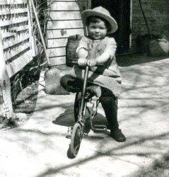 Tyke with Trike