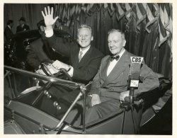 Monty and Van Johnson: 1953