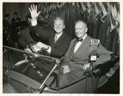 Monty and Van Johnson: 1953