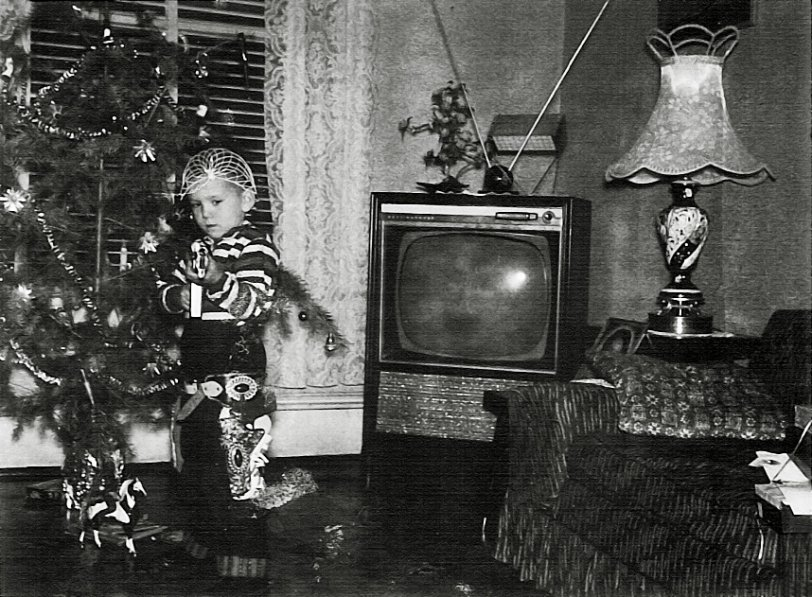Christmas 1960 Shorpy Old Photos Vintage Photography