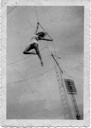 Rope Acrobatics 1956