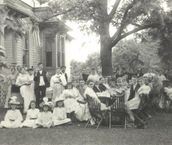 Rorick Family July 4th 1894 Morenci, MI