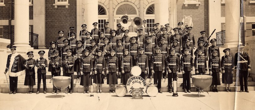 High School Band: 1937