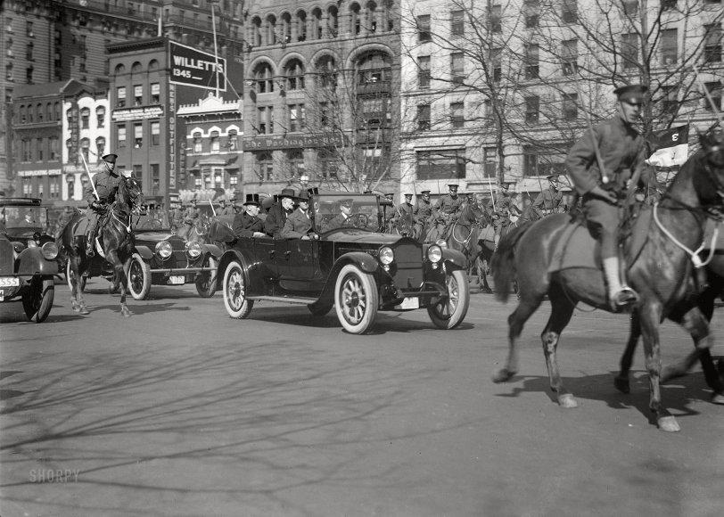 Inaugural Parade: 1921