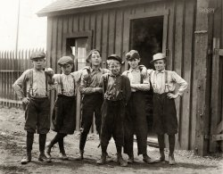 Wee Lads: 1910