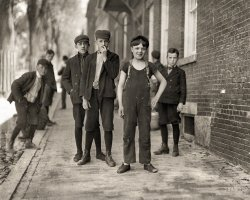 Elbows and the Boy: 1909