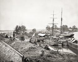 White House Landing: 1862