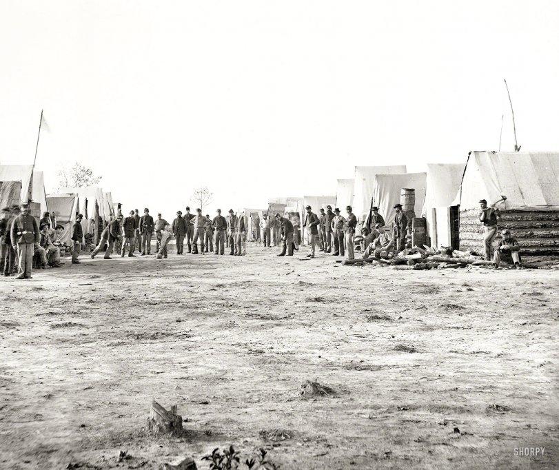 Camp Sports: 1864