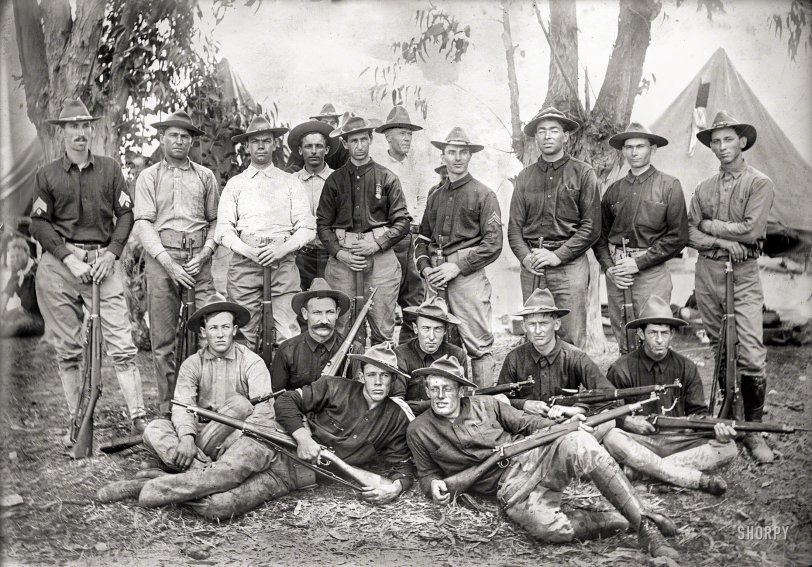 California Rifles: 1908