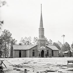 Log Chapel: 1864