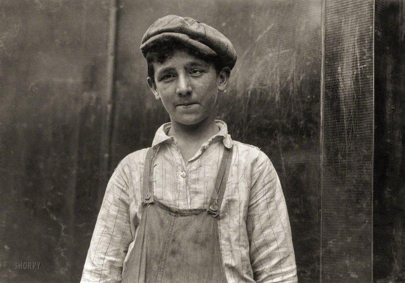 Larry the Doffer: 1916