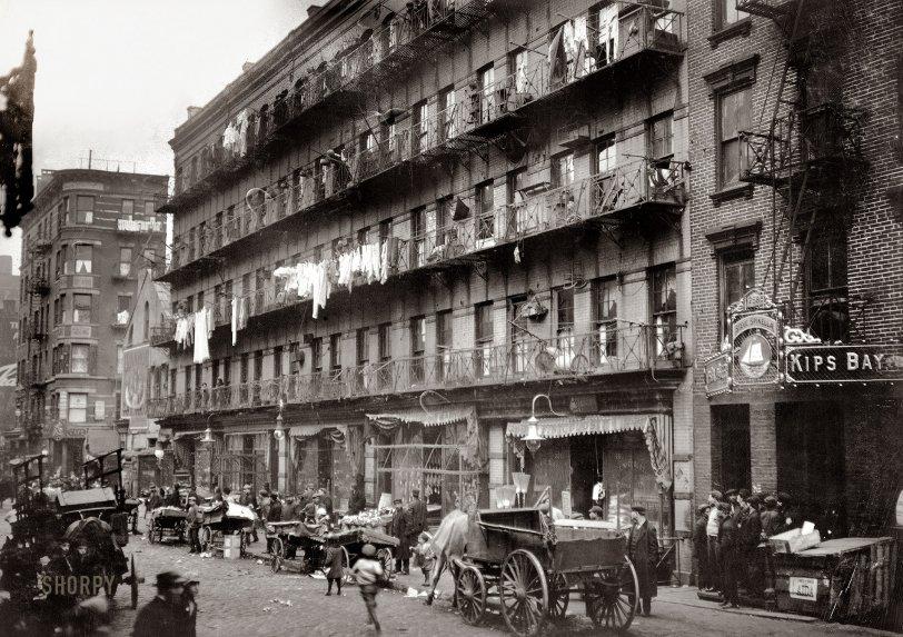 Elizabeth Street: 1912