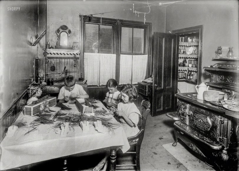 Honest Household: 1912