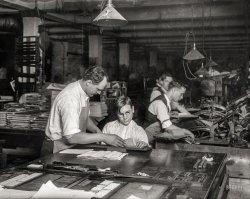 Printer's Helper: 1917