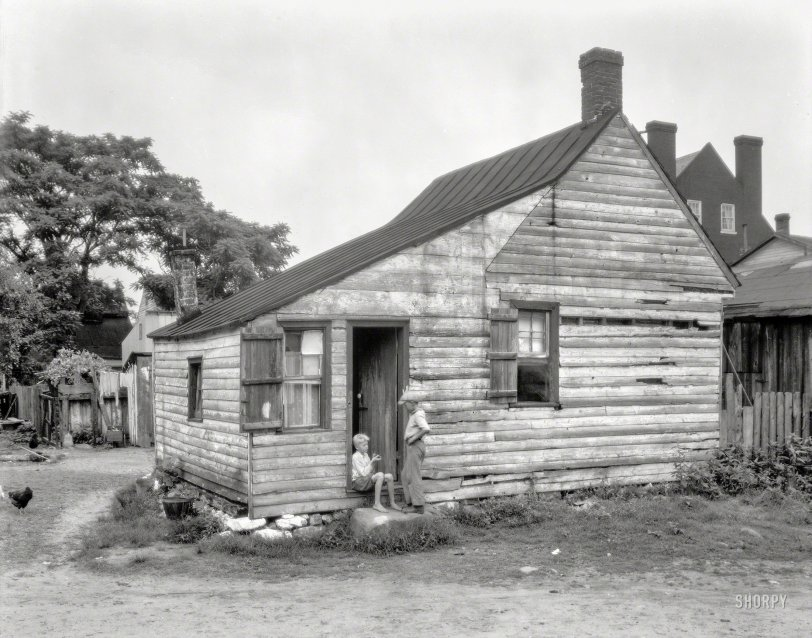 Alley Cabin: 1928