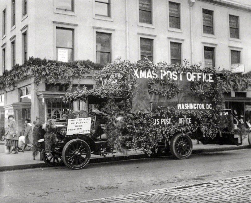 Santa's Mailbox: 1922