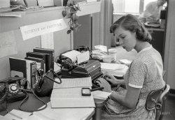 Girl Friday: 1956