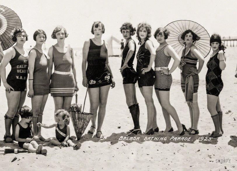 Balboa Bathing Parade: 1925