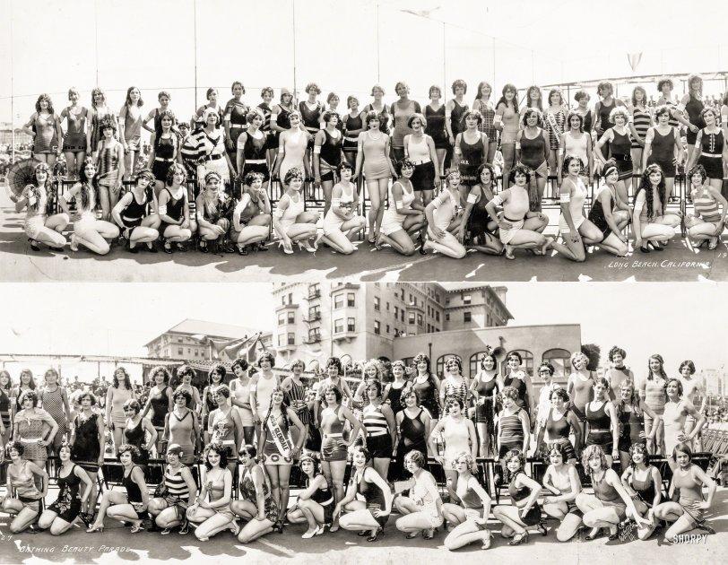 Bathing Beauty Parade: 1927