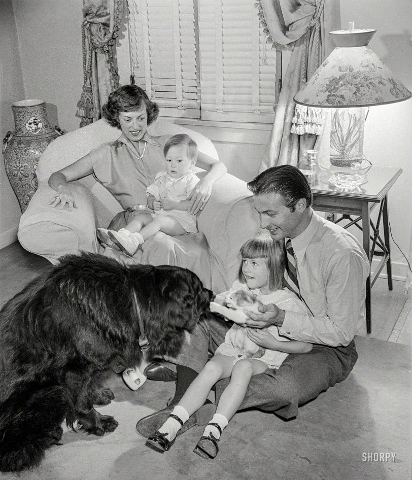 Tarzan at Home: 1948