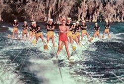 Mermaid on Skis: 1953
