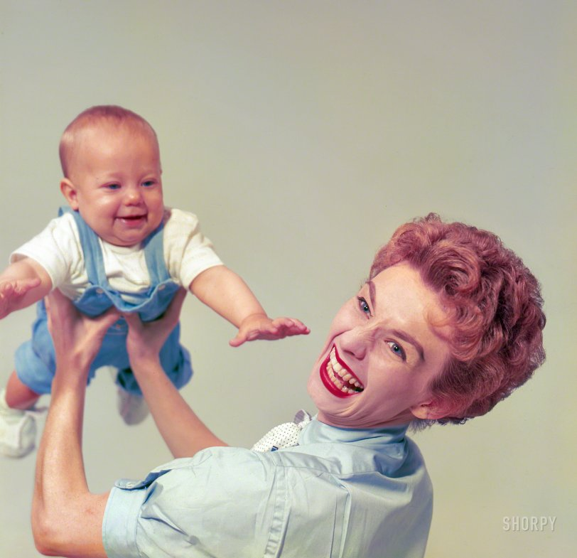 Helicopter Baby: 1954