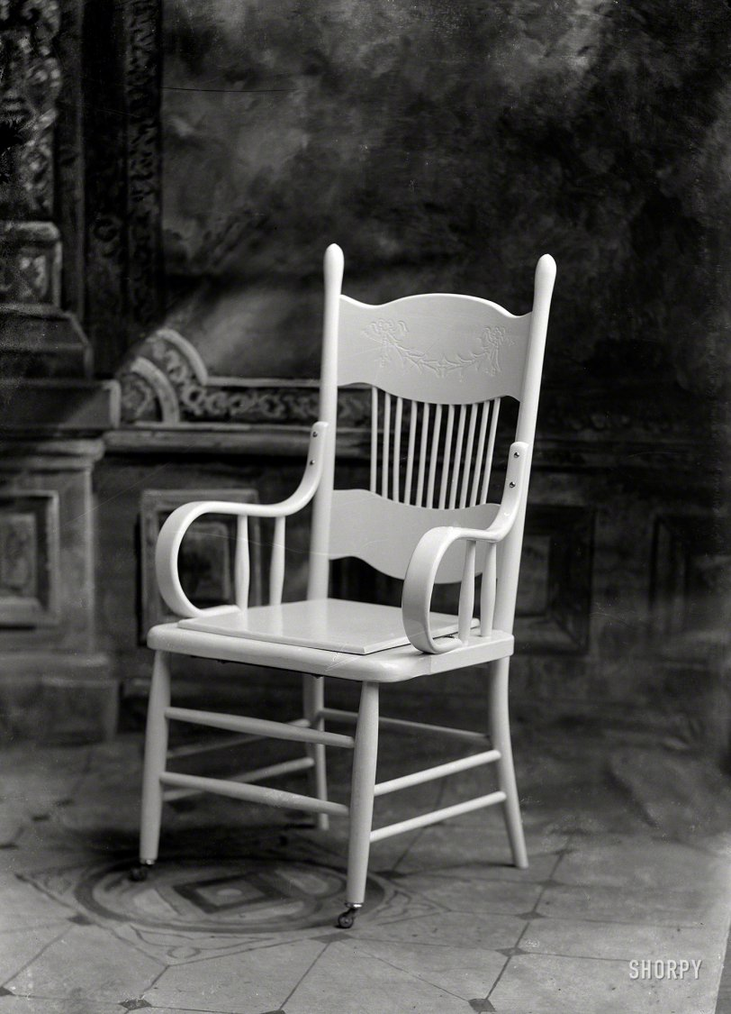 The Beall Chair: 1898